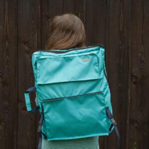 рюкзак для пленэра бирюзовый