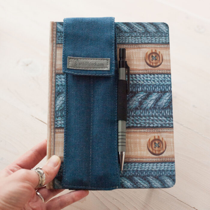 sketchbook pocket