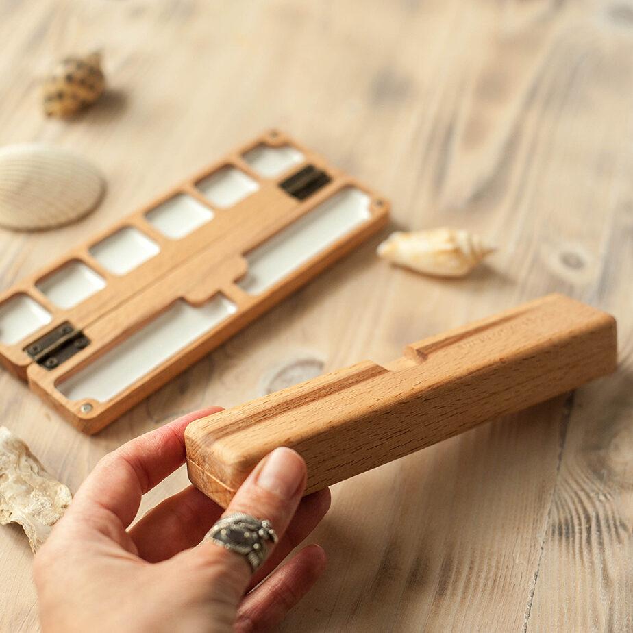 wooden palette 6 weels