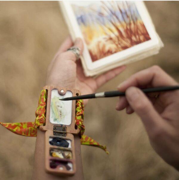 wrist palette